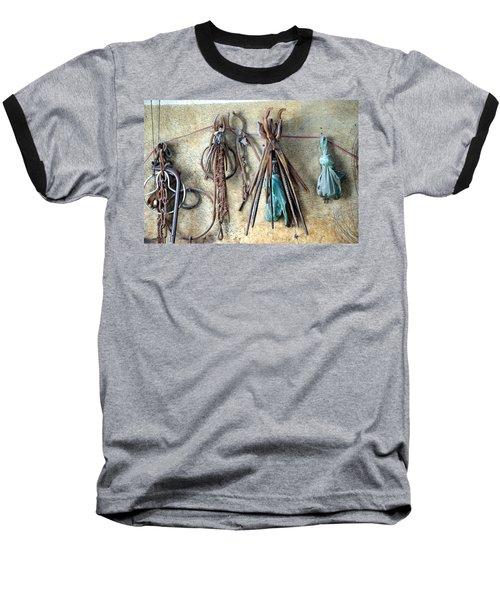 Coppersmith Tools Baseball T-Shirt by Debi Demetrion