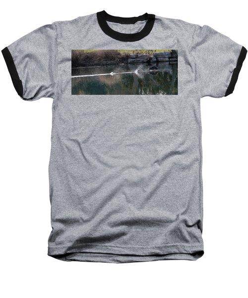 Cormorant Take-off Baseball T-Shirt