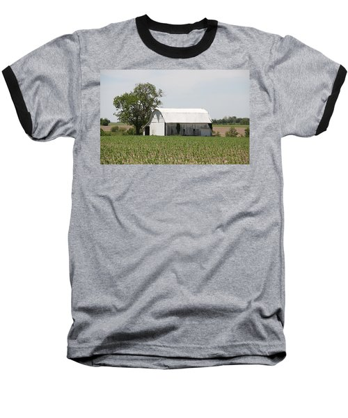 Corn Field Baseball T-Shirt