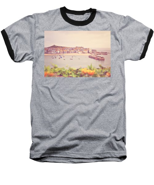 Cornish Harbour Baseball T-Shirt