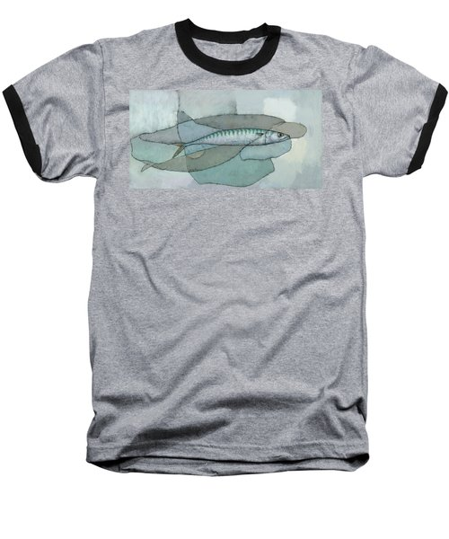 Cornish Mackerel Baseball T-Shirt