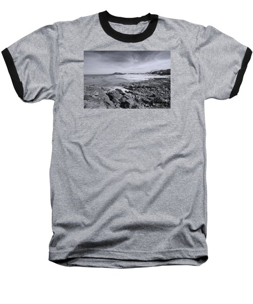 Cornwall Coastline 2 Baseball T-Shirt