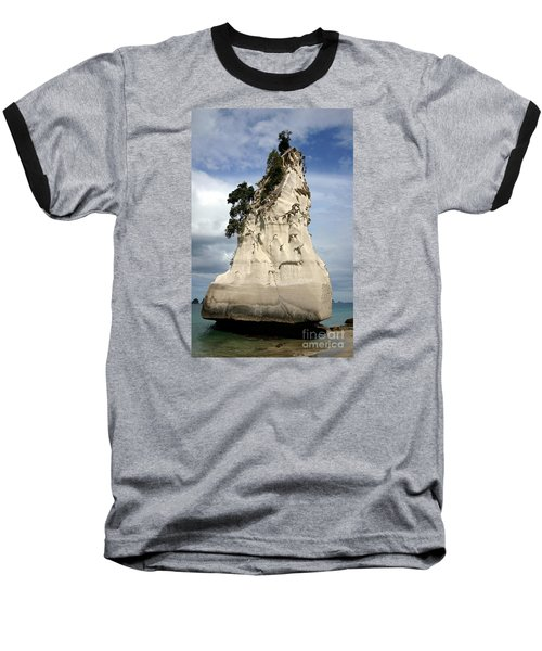 Coromandel Rock Baseball T-Shirt by Barbie Corbett-Newmin