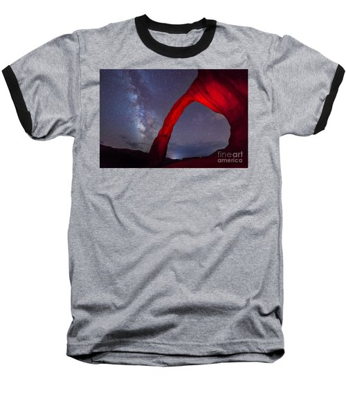 Corona Arch Milk Way Red Light Baseball T-Shirt