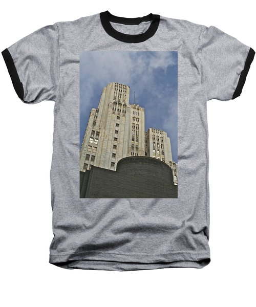 Corporate Monolith  Baseball T-Shirt