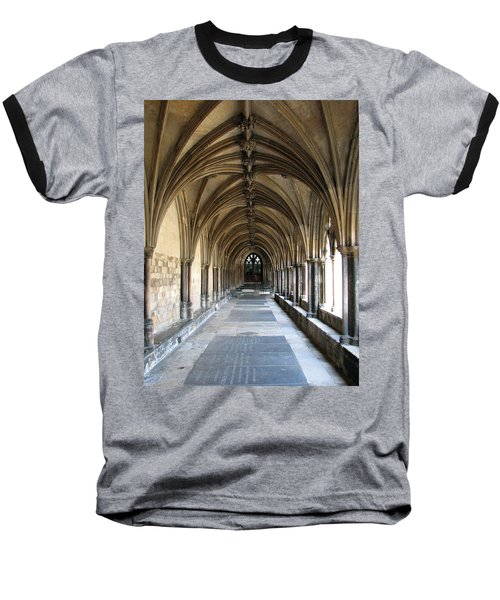 Baseball T-Shirt featuring the photograph Corridor Of Arches by Stephanie Grant