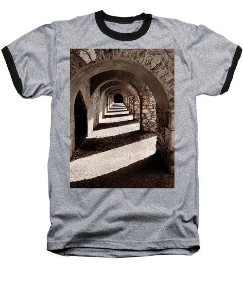 Corridors Of Stone Baseball T-Shirt