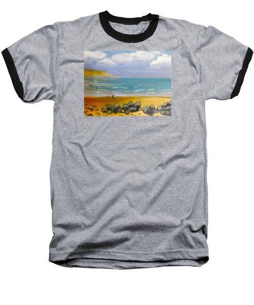 Corrimal Beach Baseball T-Shirt