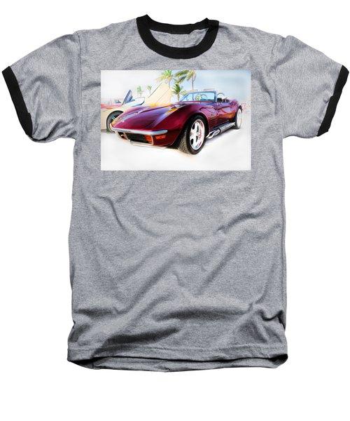 Chevrolet Corvette Series 02 Baseball T-Shirt