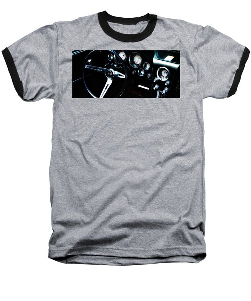 Baseball T-Shirt featuring the photograph Corvette Stingray by Aaron Berg