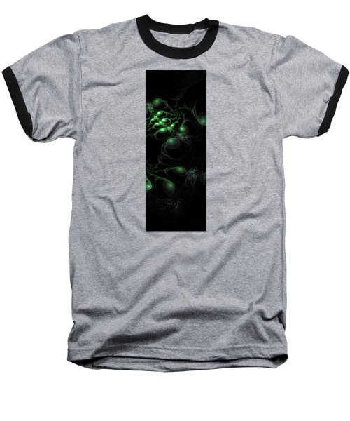 Cosmic Alien Eyes Original 2 Baseball T-Shirt by Shawn Dall