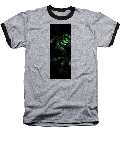 Cosmic Alien Eyes Original Baseball T-Shirt