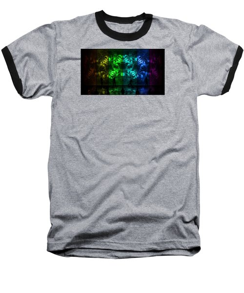 Cosmic Alien Vixens Pride Baseball T-Shirt by Shawn Dall