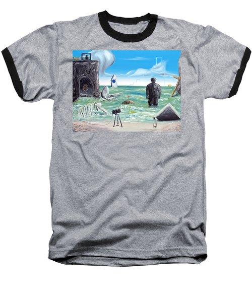 Cosmic Broadcast -last Transmission- Baseball T-Shirt