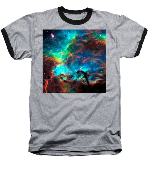 Cosmic Cradle 2 Star Cluster Ngc 2074 Baseball T-Shirt