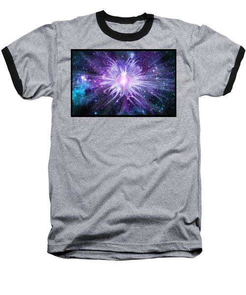 Cosmic Heart Of The Universe Baseball T-Shirt by Shawn Dall