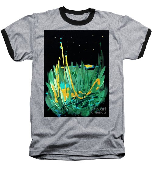 Cosmic Island Baseball T-Shirt