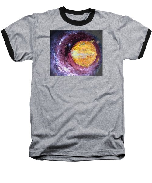 Baseball T-Shirt featuring the photograph Cosmic by Kathy Bassett
