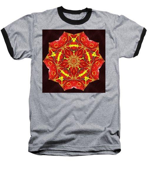 Cosmic Masculine Firestar Baseball T-Shirt