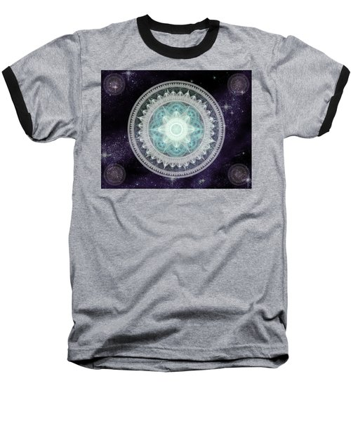 Cosmic Medallions Water Baseball T-Shirt