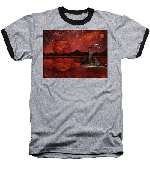 Cosmic Ocean Baseball T-Shirt