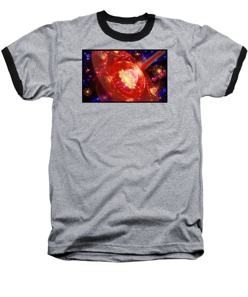 Cosmic Space Station 2 Baseball T-Shirt