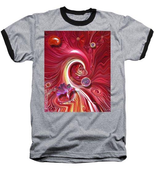 Cosmic Waves Baseball T-Shirt