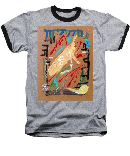 Cosmopolitan Baseball T-Shirt by Mary Carol Williams