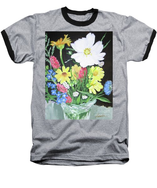 Cosmos And Her Wild Friends Baseball T-Shirt