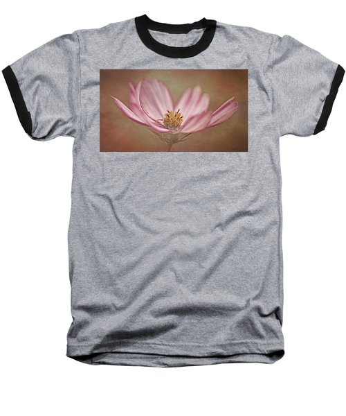 Baseball T-Shirt featuring the photograph Cosmos by Ann Lauwers