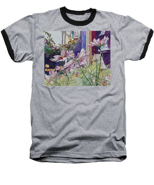 Cosmos At The Coffee Shoppe Baseball T-Shirt