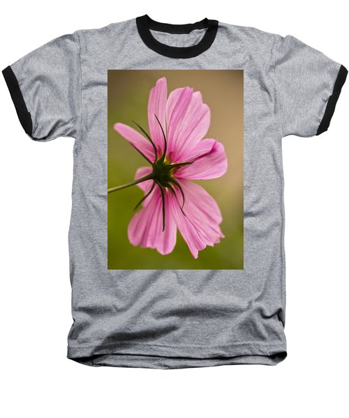 Cosmos In Pink Baseball T-Shirt