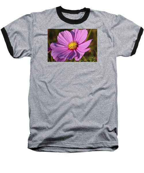 Baseball T-Shirt featuring the photograph Cosmos Love by Julie Andel