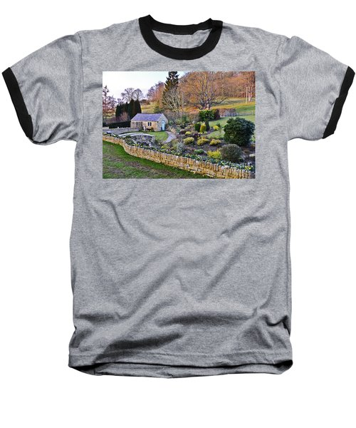 Cotswold Cottage Baseball T-Shirt