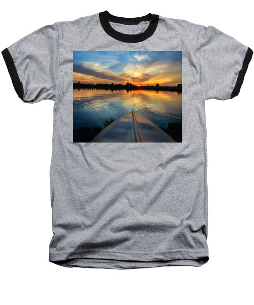 Cottage Country's Silhouette Baseball T-Shirt