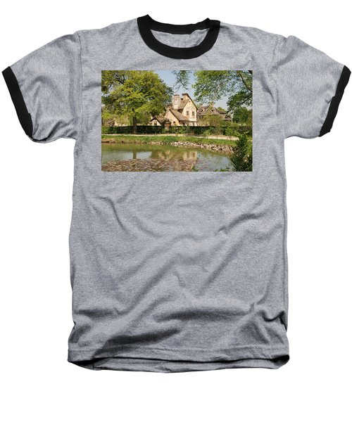 Baseball T-Shirt featuring the photograph Cottage In The Hameau De La Reine by Jennifer Ancker