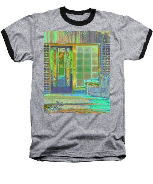Cottage Porch Baseball T-Shirt