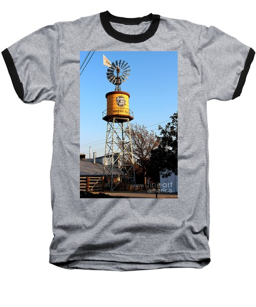 Cotton Belt Route Water Tower In Grapevine Baseball T-Shirt