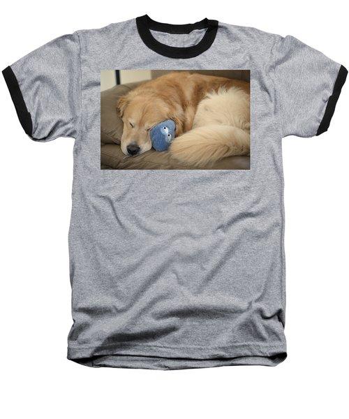Couch Potato Baseball T-Shirt