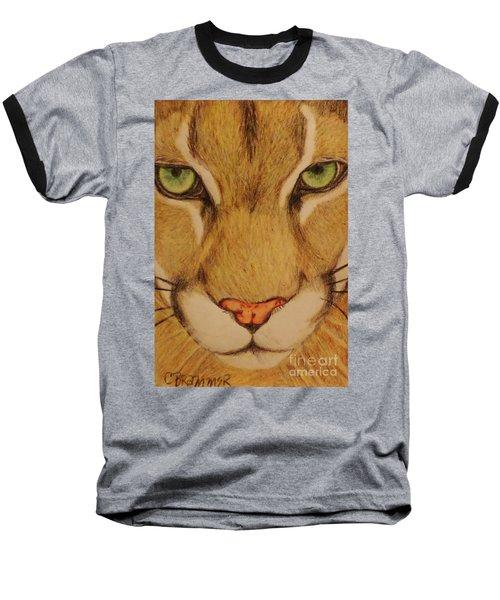 Cougar Baseball T-Shirt by Christy Saunders Church