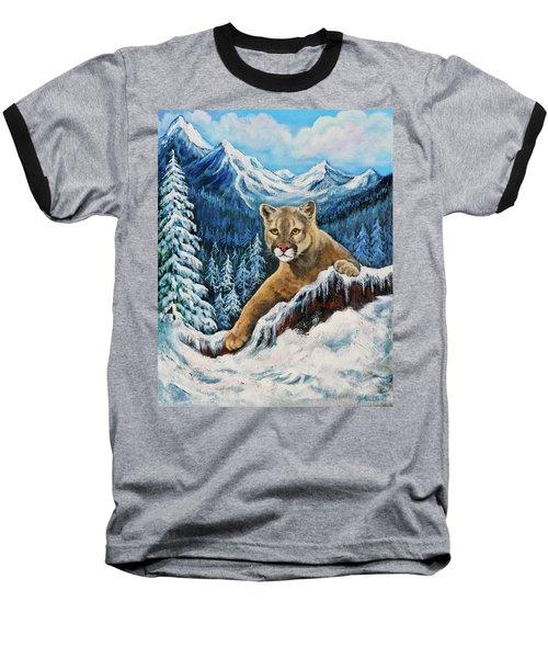 Cougar Sedona Red Rocks  Baseball T-Shirt