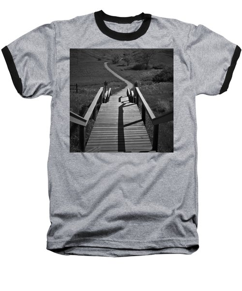 Coulee Stairs Baseball T-Shirt