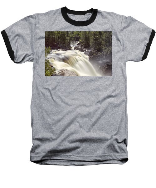 Coulonge Falls Baseball T-Shirt by Eunice Gibb