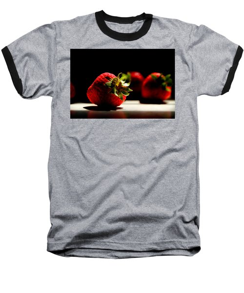 Countertop Strawberries Baseball T-Shirt