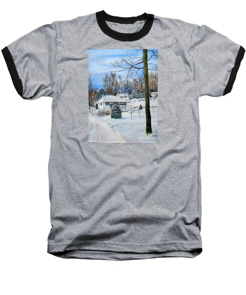 Country Club In Winter Baseball T-Shirt