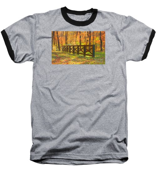 Baseball T-Shirt featuring the photograph Country Fence by Geraldine DeBoer