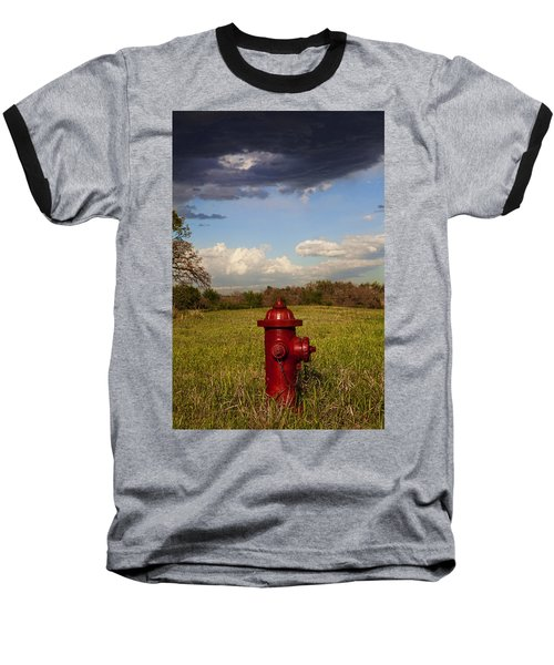 Country Fire Hydrant Baseball T-Shirt