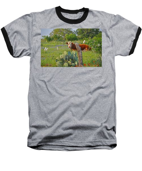 Country Friends Baseball T-Shirt by Lynn Bauer