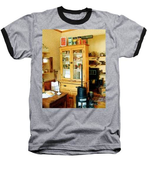 Baseball T-Shirt featuring the painting Country Kitchen Sunshine IIi by RC deWinter