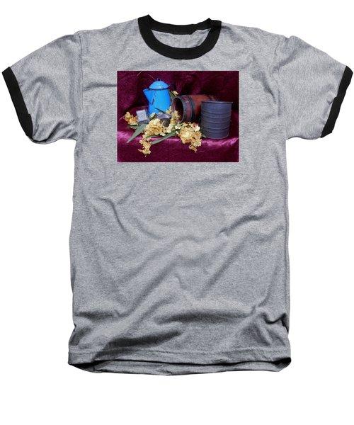 Country Life Baseball T-Shirt by Pamela Walton